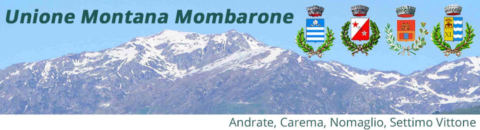 Unione Montana Mombarone - via Montiglie 1/I - 10010 Settimo Vittone (TO) - C.F. 93045560013